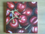 kersjes drieluik olieverf- cherries tryptic oil painting