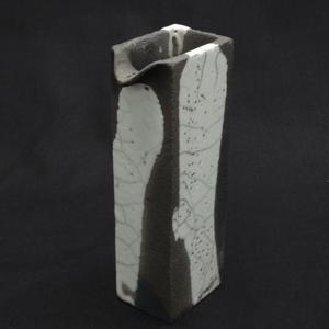 Raku vase small - ceramic