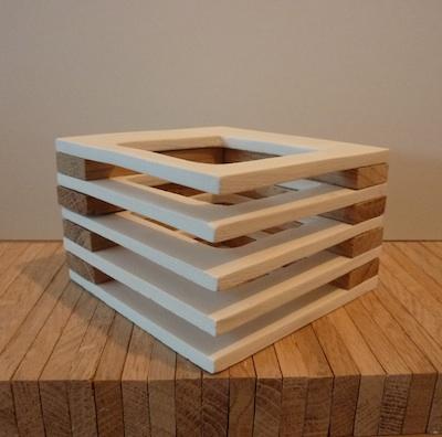 clay meets wood - layered