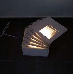 image of ceramic layered lamp - gelaagde lamp