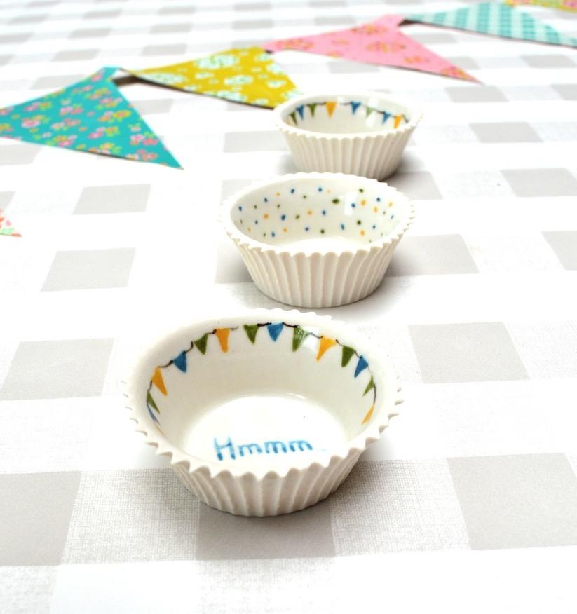 Cupcake vormen © Clayandmore