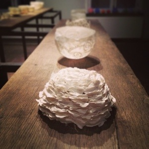 geblad - papierporselein ©Femke De Roo