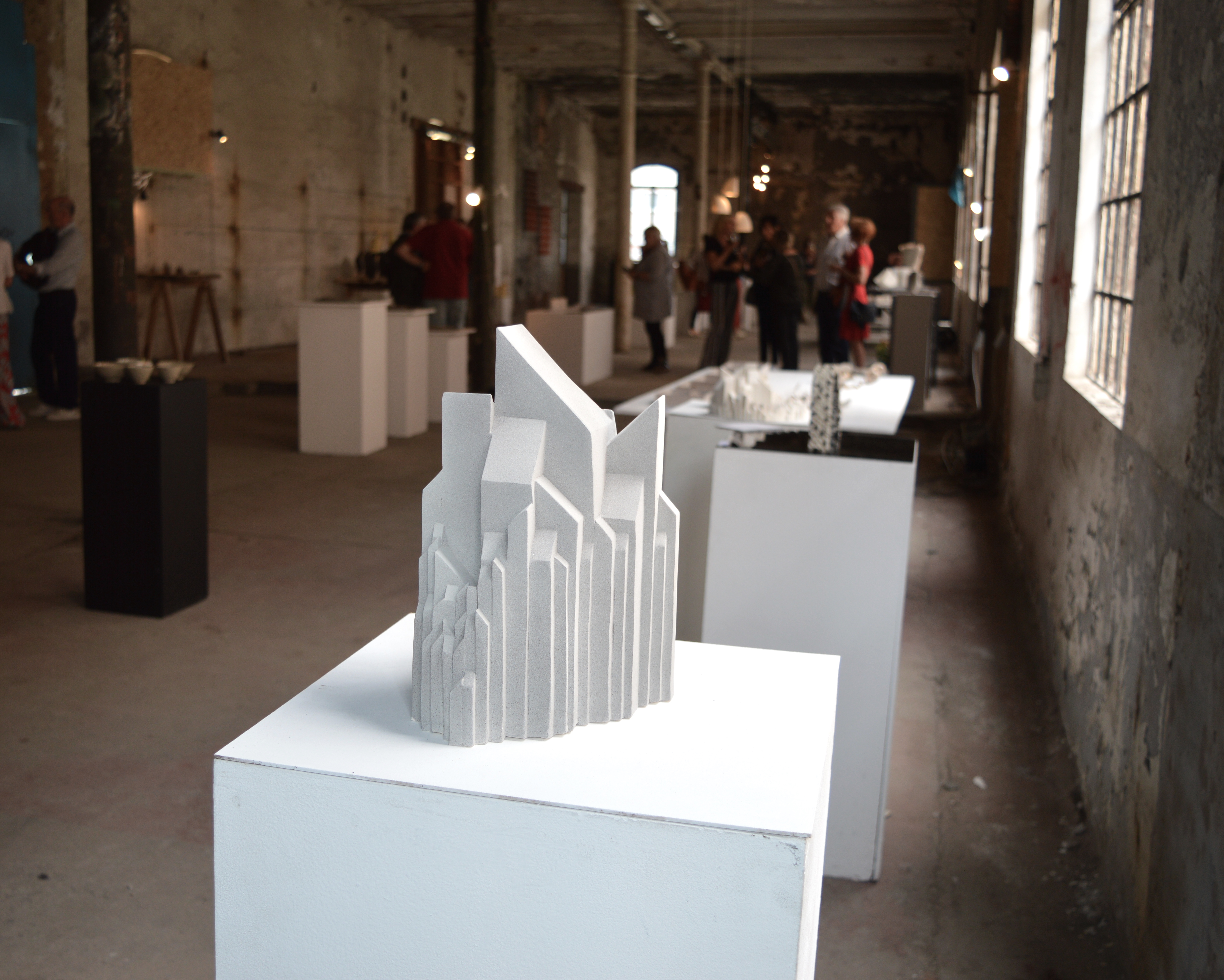 New York Ceramic sculpture by Femke De Roo